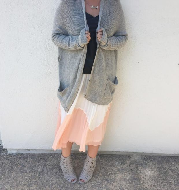 765054b988f bcbgmaxazria bcbg oversized grey cashmere cardigan